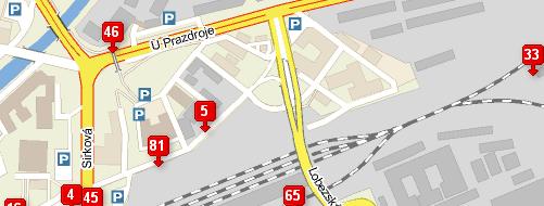 Mapa více značek - co lze také udělat pomocí mapy.cz